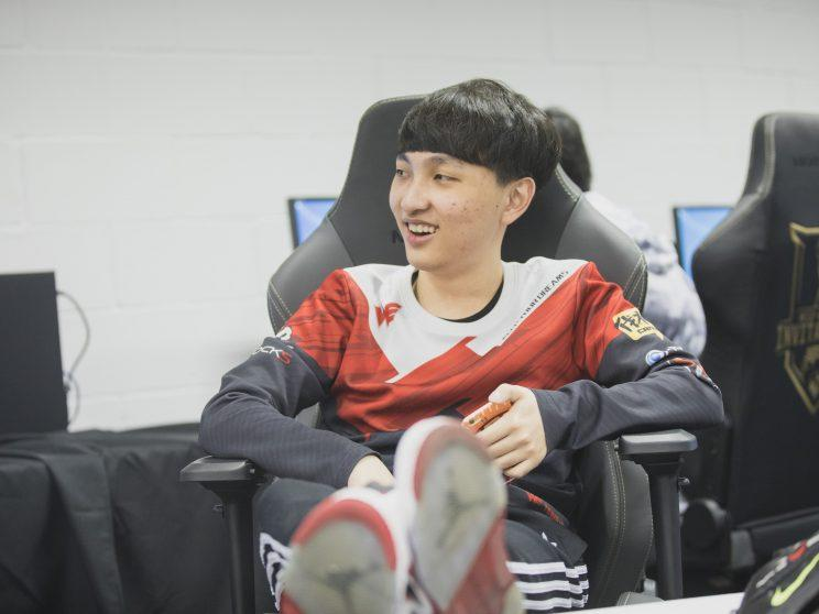 xiye backstage at MSI (lolesports)
