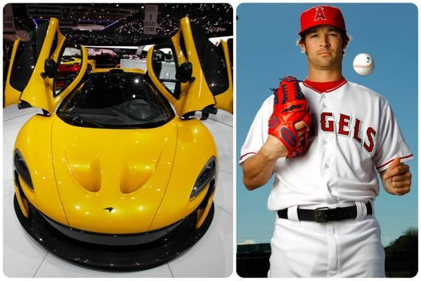 The pitch Angels' C.J. Wilson has to make for a $1.15 million McLaren P1