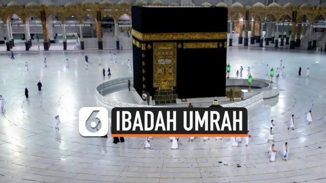 VIDEO: Melihat Masjidil Haram Saat Ibadah Umrah Kembali Dibuka