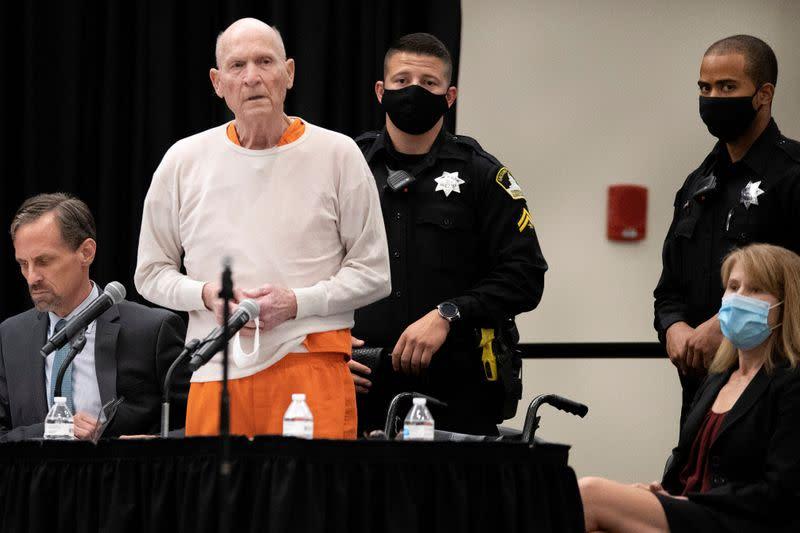'The bogeyman gone': California's 'Golden State Killer' sentenced to life in prison