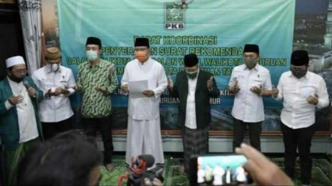 Gus Ipul Resmi Diusung PKB di Pilkada Kota Pasuruan