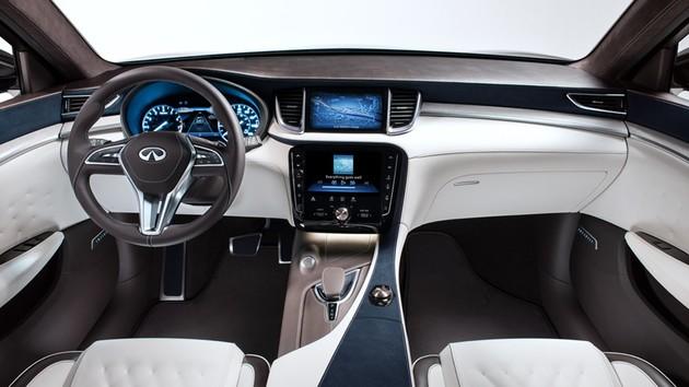 向Lexus NX下戰帖,Infiniti QX50概念車在底特律初秀拳頭
