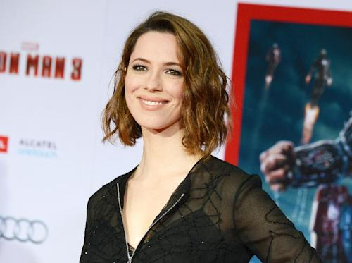 "FILE - This April 24, 2013 file photo shows actress Rebecca Hall at the world premiere of ""Iron Man 3"" in Los Angeles, Calif. The Roundabout Theatre Company said Tuesday, May 28, that Hall will star on Broadway in the first revival of ""Machinal"" since it debuted 85 years ago. Previews begin Dec. 20 at the American Airlines Theatre and opening night is Jan. 16. (Photo by Jordan Strauss/Invision/AP, file)"