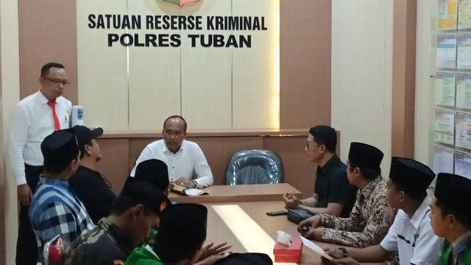 GP Ansor Laporkan Penghina Bupati Tuban ke Polisi