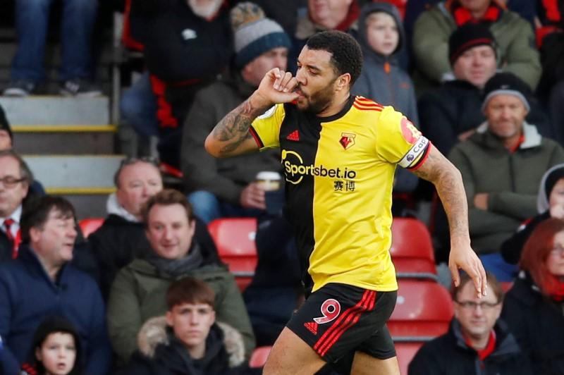 Watford out of bottom three after thrashing Bournemouth