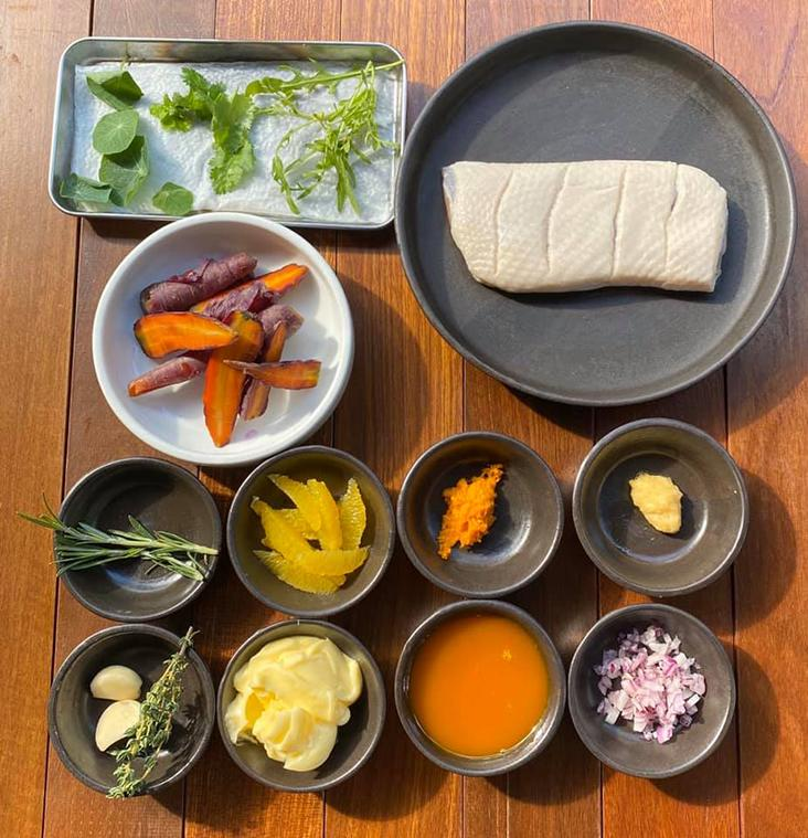 Charline asado + bar is challenging you to cook at home with their mealbox where all the ingredients are packed for you — Picture from Charline's Facebook