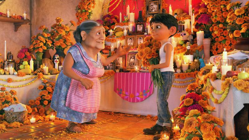 'Coco'. (Credit: Pixar)