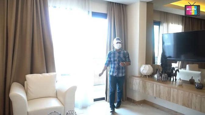 Potret apartemen baru Ayu Ting Ting. (Sumber: YouTube/Qiss You Tv)
