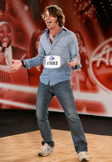Atlanta Audition: Joshua Jones, 20, performs in front of the judges on the 7th season of American Idol.