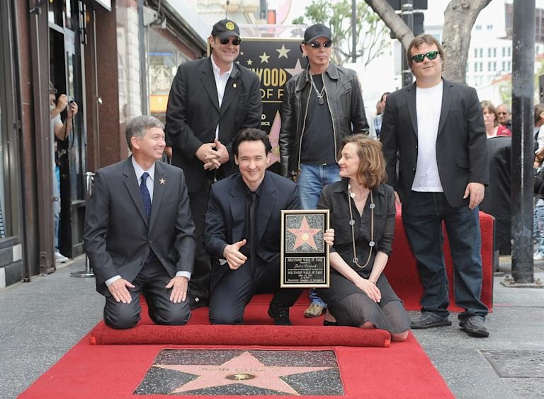 The Raven's John Cusack Receives His Star On The Hollywood Walk Of Fame