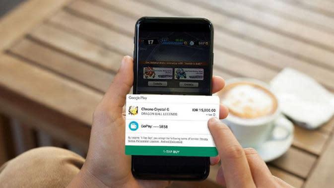Kini GoPay hadir sebagai opsi pembayaran baru di Google Play.