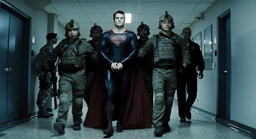 Superman Goes for 'Deadliest Catch' Look in 'Man of Steel' Behind the Scenes Preview