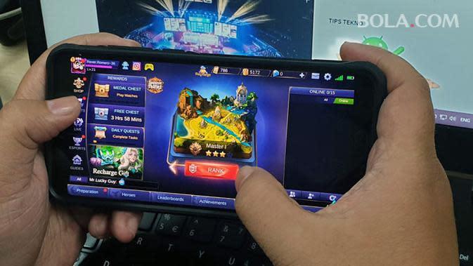 Mobile Legends dikonfirmasi jadi salah satu judul gim esports yang dipertandingkan di SEA Games 2019. Liputan6.com/ Jeko Iqbal Reza