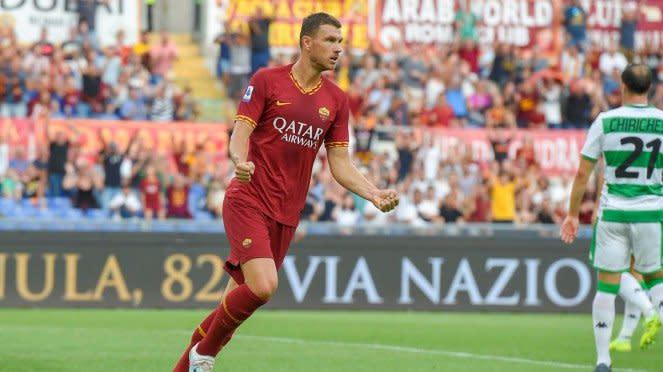 Penyerang AS Roma, Edin Dzeko
