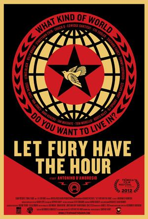 Yahoo! Movies Giveaway: 'Let Fury Have the Hour' Poster Signed by Shepard Fairey