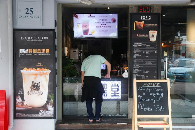 Daboba, one of the crowd favourites, is one of the few surviving boba tea outlets on Boba Street.