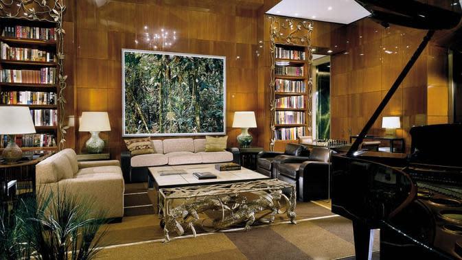 Ty Warner Penthouse di Four Seasons Hotel, New York. Dok Https://www.fourseasons.com/newyork/photos-and-videos/