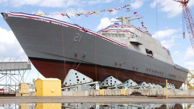 VIVA Militer: USS Minneapolis-Saint Paul, Kapal Perang Baru Amerika
