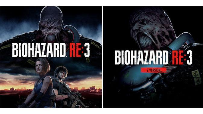 Cover arti Resident Evil 3: Nemesis remake yang bocor di internet. (Doc: Gamstat)