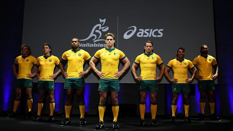 RUGBY WORLD CUP JERSEY LAUNCH