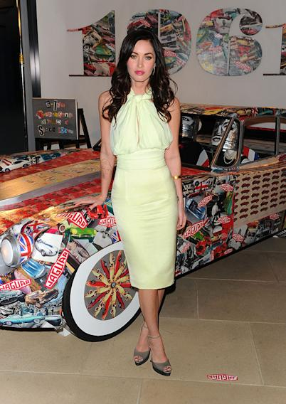 Celebration Of Jaguar Design And The 50th Anniversary Of The Jaguar E-Type - Arrivals: Megan Fox