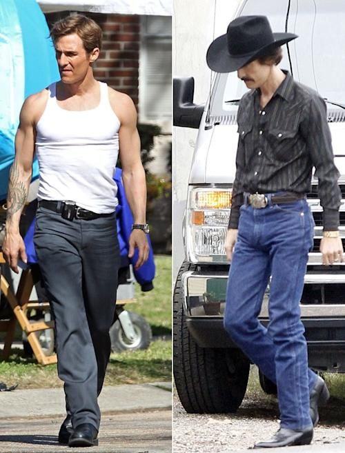 Scary-Skinny No More: Matthew McConaughy Gets His Beefcake Back On