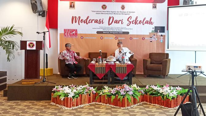 FKPT Sulbar Kumpulkan Guru Agama, Bahas Radikalisme dan Terorisme