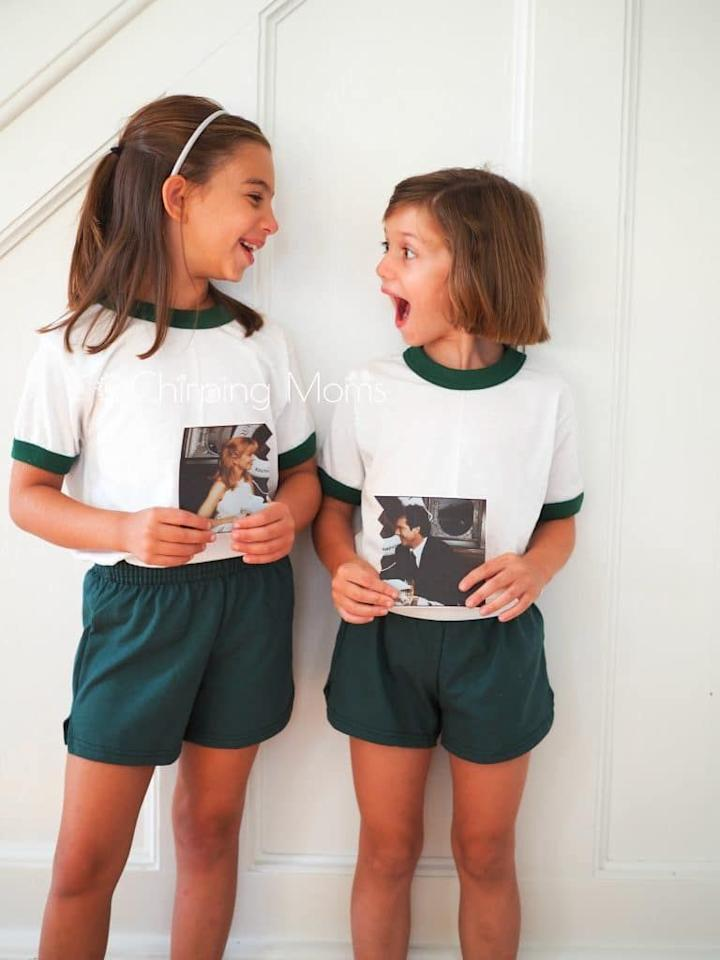 """<p>It doesn't get any easier than this <em>The Parent Trap </em>costume. All you need are matching T-shirt sets and a printout of the infamous ripped photograph. </p><p><em><a href=""""https://thechirpingmoms.com/easy-diy-costume-the-parent-trap/"""" target=""""_blank"""">Get the tutorial on The Chirping Moms »</a></em></p><p><strong>RELATED: </strong><a href=""""https://www.goodhousekeeping.com/holidays/halloween-ideas/g29516206/best-tv-movie-character-halloween-costumes/"""" target=""""_blank"""">16 Halloween Costumes Inspired By Your Favorite TV and Movie Characters</a></p>"""