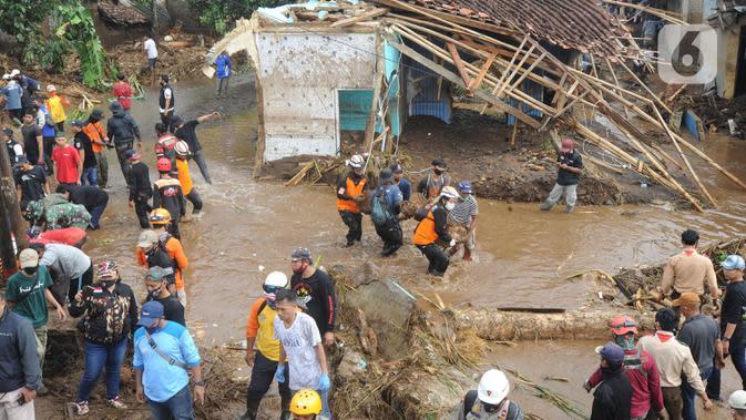 4 Hari Pencarian, Jasad Korban Banjir Bandang Sukabumi Ditemukan