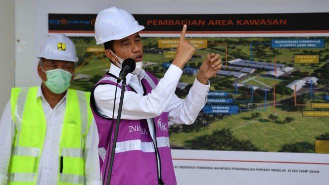 Jokowi: Kesempatan Tangani Corona Sampai Lebaran Harus Dimanfaatkan