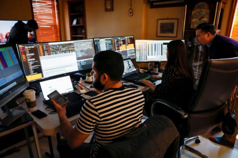 Stocks down on virus' economic toll; dollar falls further