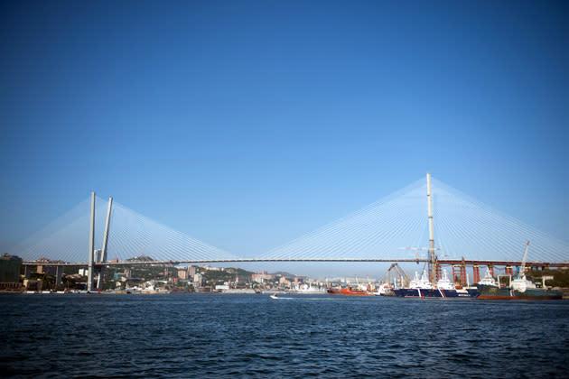 Golden Horn bridge
