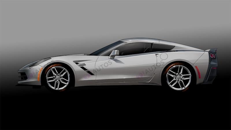 Is this the next generation of Chevrolet Corvette?