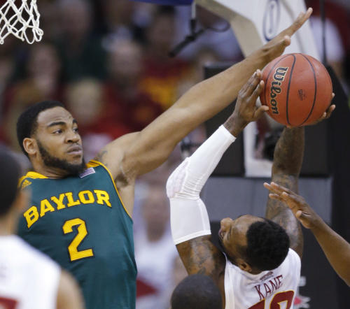 No. 16 Iowa State beats Baylor 74-65 to win Big 12