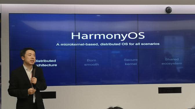 Huawei mengadakan workshop terbatas di Jakarta tentang OS Harmony. (Liputan6.com/ Agustinus Mario Damar)