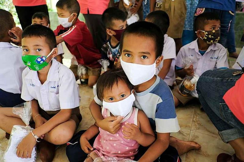 A World Vision household survey finds children experiencd severe stress and mental illness during lockdown. — Picture courtesy of World Vision Malaysia