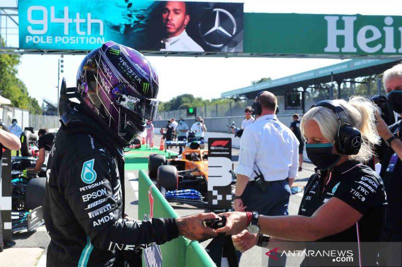 Anggota tim Mercedes positif COVID-19 jelang Grand Prix Eifel