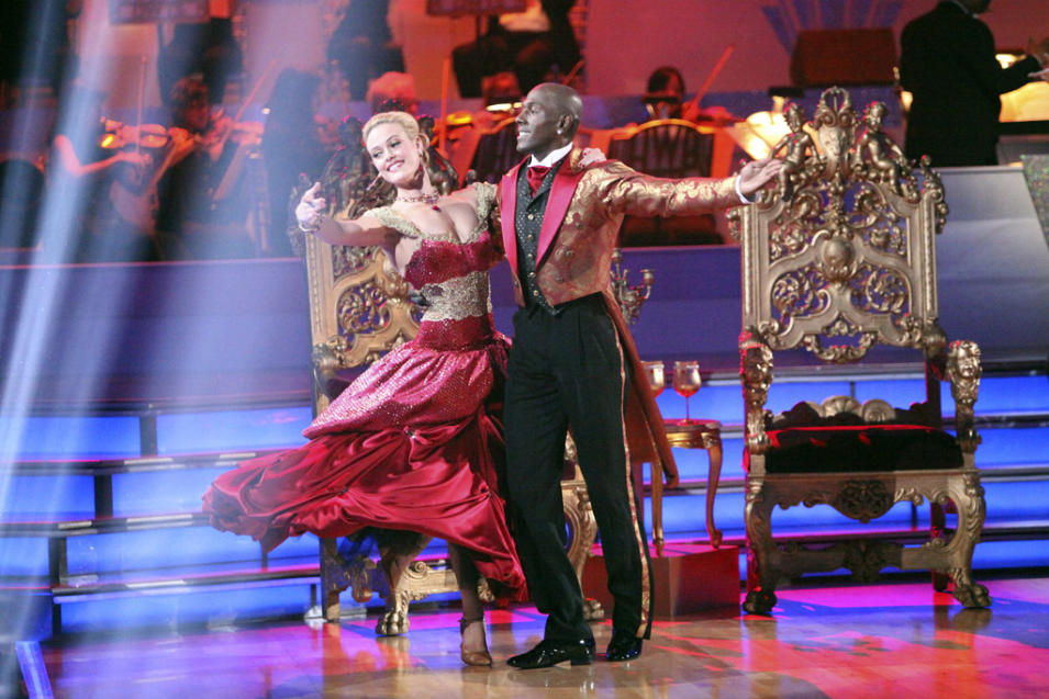 Peta Murgatroyd and Donald Driver (4/30/12)