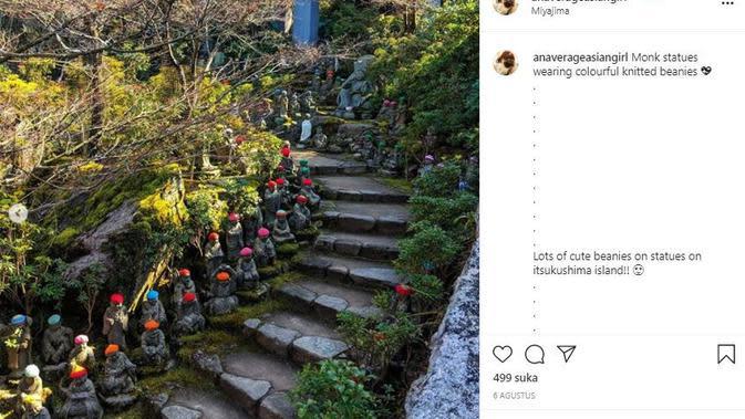 Taman Nasional Setonaikai di Jepang (Dok.Instagram/@anaverageasiangirl/https://www.instagram.com/p/CDjHj8wMeqi/Komarudin)