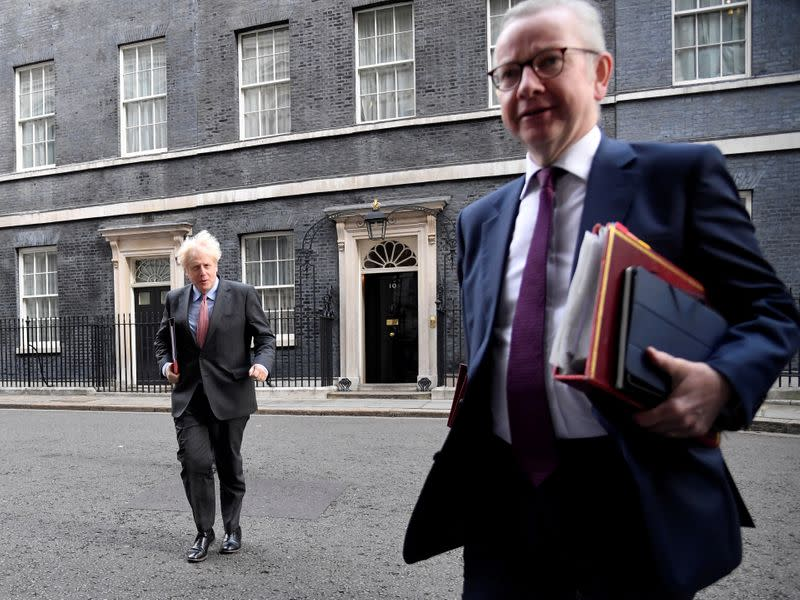 Compliance with COVID isolation rules is a problem - UK's Gove