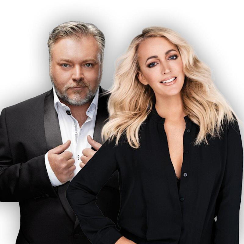 KIIS FM ratings winners Kyle Sandilands and Jackie O. Photo: KIIS FM