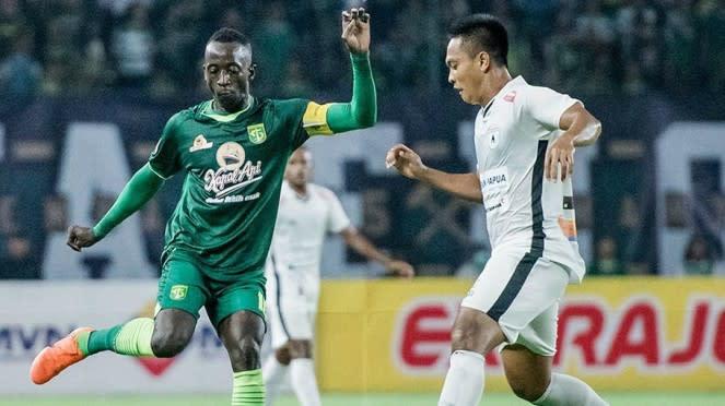 Laga Liga 1 2020, Persebaya Surabaya takluk dari Persipura Jayapura