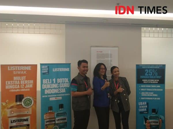 Yuk, Bantu Peningkatan Pendidikan Kab. Aceh Singkil Bersama Listerine!
