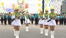 北一女150學生勤練 操槍步伐炫目