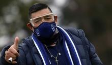 阿根廷足球傳奇馬拉度納住院 傳與染疫無關