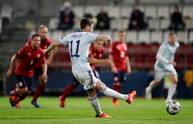 Scotland beat stop-gap Czech side 2-1 in Nations League