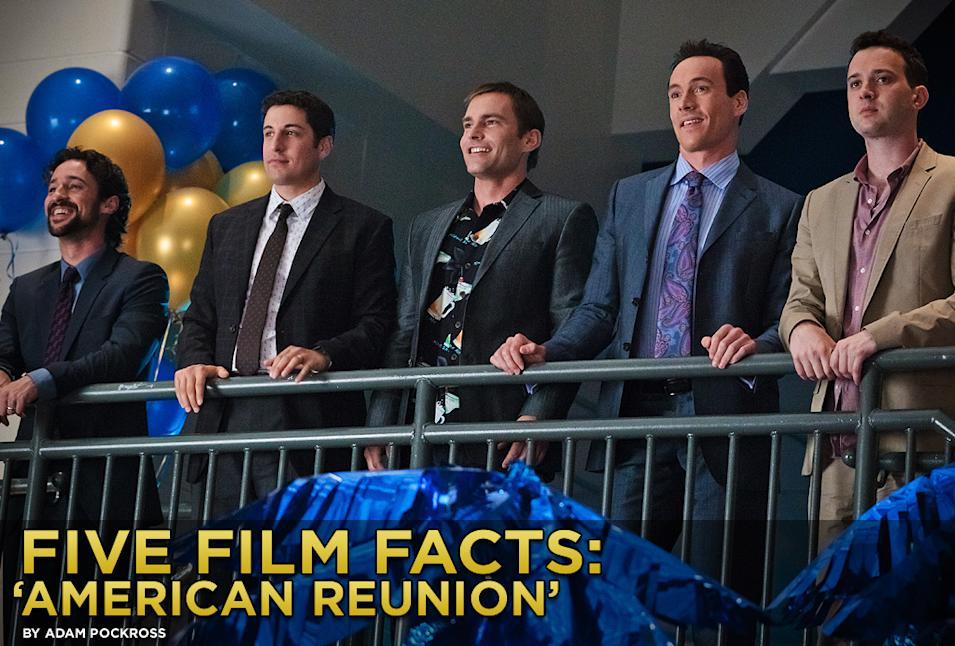Five Film Facts American Reunion