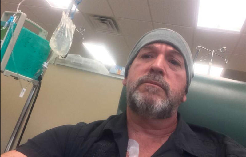 Colleagues donated sick leave to Florida teacher Robert Goodman battling cancer as he recovers from chemotherapy.