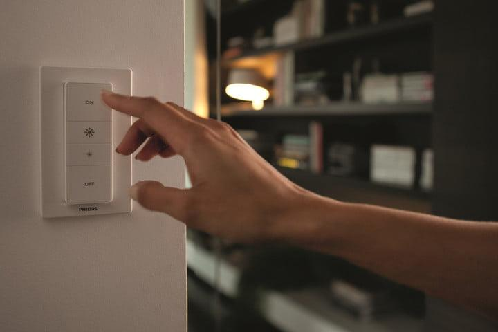 best smart light switches philips dimmer close