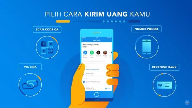 Salah satu keunggulan aplikasi DANA yaitu gratis transfer ke rekening bank maupun ke sesama akun DANA.